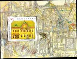 2015 Slovakia / Slowakei - Kulturhaus In Skalica; Von Dušan Jurkovič - MS Paper - Mi B 47 - MNH** - Slowakische Republik