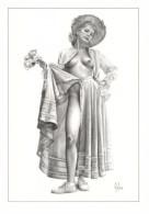Aslan - Carte Postale érotique - Sexy Nude Nº 10 Marina, Limited Edition - Size: 15x10 Cm. Aprox. - Aslan