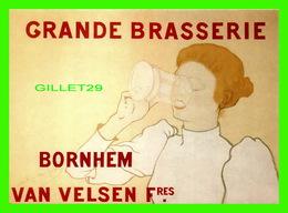 ADVERTISING - PUBLICITÉ - GRANDE BRASSERIE, BORNHEM VAN VELSEN FRES. - 2001 - - Publicité