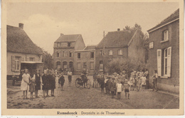 Ramsdonck - Ramsdonk - Dorpzicht In De Thisseltstraat - Zeer Geanimeerd - Em. Beernaert, Lokeren - Kapelle-op-den-Bos