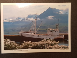 Fischerboot Bei Reydarfjördur (gelaufen , 2000, Deutschland) , H24 - Island