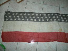 WW2.???? BANDIERA AMERICANA USA FLAG BANNER MT.3,70XCM.55 - Flags