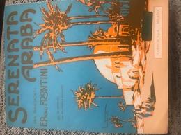 1979 Spartito Musicale Serenata Araba Per Pianoforte Illustratore Bonfanti - Spartiti