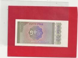 CENTRAL BANK OF MYANMAR . 50 PYAS  . 2 SCANES - Myanmar
