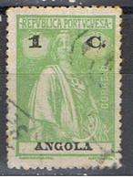 (T 70) ANGOLA // YVERT 202 // 1921-25 - Angola