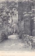 CPA 38 @ CHATEAU De LA SONE (14° S.) - Ancien Pont Levis En 1904 - DAUPHINE - France