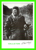 PUBLICITÉ - CLICHÉ DE CLAUDE FAGE - MME CATON AU VAILLANT EN 1990 - CIRCULÉE - - Publicité