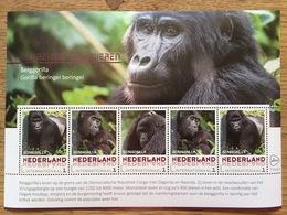 Nederland Pay Bas Olanda Netherlands 2017, Endangered Mammal: Mountain Gorilla **, MNH - Ongebruikt