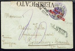 Italie - 1914-18 - Compagnie Présidiaria, 3ème Armée, Zona Di Guerra - Enveloppe Pour Porrentruy (Suisse) Censure -B/TB. - Correo Militar (PM)