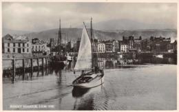 R111005 Ramsey Harbour. I. O. M. Salmon. No 5150. RP - Postcards