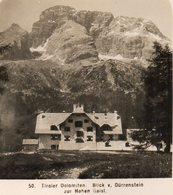 AK-1373/ Blick V. Dürrenstein Dolomiten Südtirol Italien NPG Stereofoto Ca.1905 - Photos Stéréoscopiques