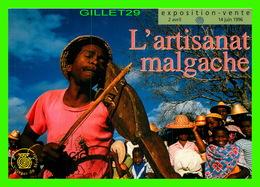 ADVERTISING - PUBLICITÉ - EXPOSITION-VENTE D'ARTISANAT MALGACHE EN 1996 - - Publicité