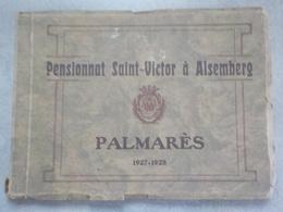 1927-28 Alsemberg Palmarès Pensionnat Saint-Victor Nombreuses Photos 93 Pages école étudiants Enseignement Beersel - Beersel