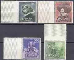 SPAGNA - SPAIN - ESPAGNE - 1961 - Serie Completa Formata 4 Valori Nuovi MNH: Yvert 1017/1020 Con Margini Di Foglio. - 1931-Oggi: 2. Rep. - ... Juan Carlos I