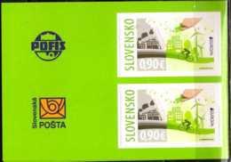 2016 - Slovakia -Europa CEPT Think Green 2v From Booklet - Paper - MNH** MI 790 - Slowakische Republik