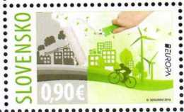 2016 - Slovakia -Europa CEPT Think Green 1v - Paper - MNH** MI 789 - Slowakische Republik