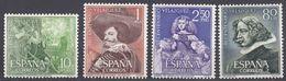 SPAGNA - SPAIN - ESPAGNE - 1961 - Serie Completa Formata 4 Valori Nuovi MNH: Yvert 1017/1020. - 1931-Oggi: 2. Rep. - ... Juan Carlos I