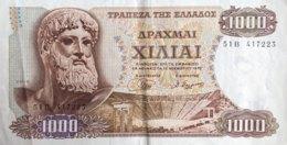 Greece 1.000 Drachmai, P-198b (1.11.1970) - EF/XF - Griechenland