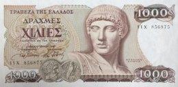 Greece 1.000 Drachmai, P-202 (1.7.1987) - UNC - Griechenland