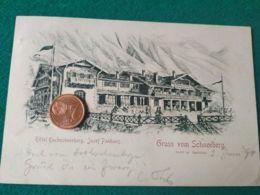 GRUSS AUS   Schneeberg 1898 - Saluti Da.../ Gruss Aus...