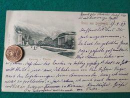 GRUSS AUS  Innsbruck 1897 - Saluti Da.../ Gruss Aus...