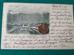 GRUSS AUS  Innsbrck 1897 - Saluti Da.../ Gruss Aus...