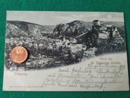 GRUSS AUS Pottenstein 1898 - Saluti Da.../ Gruss Aus...