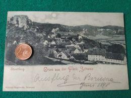 GRUSS AUS  Streitberg 1898 - Saluti Da.../ Gruss Aus...