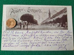 GRUSS AUS  Choteborf 1897 - Saluti Da.../ Gruss Aus...