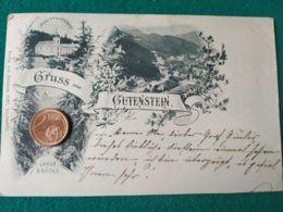 GRUSS AUS  Gutenstein 1898 - Saluti Da.../ Gruss Aus...