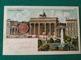 GRUSS AUS  Berlin 1900 - Saluti Da.../ Gruss Aus...