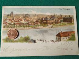 GRUSS AUS  Praga 1900 2 - Saluti Da.../ Gruss Aus...