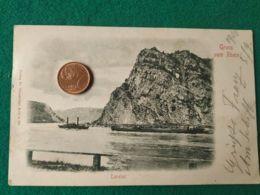 GRUSS AUS  Rhein 1899 - Saluti Da.../ Gruss Aus...