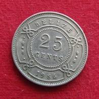 Belize 25 Cents 1986 KM# 36 Beliz Belice - Belize