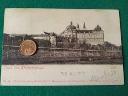GRUSS AUS  Klosterneuburg 1901 - Saluti Da.../ Gruss Aus...