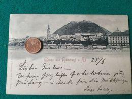 GRUSS AUS Hainburg 1898 - Saluti Da.../ Gruss Aus...