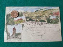 GRUSS AUS Gorkau 1900 - Saluti Da.../ Gruss Aus...