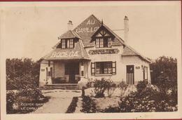 Koksijde Coxyde Bains Villa Le Au Carillon Bodega Bieren Bieres Vins Reclame Publicite Cafe Chocolat (lichte Vlekjes) - Koksijde