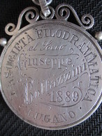Médaille Pièce ? Italienne à Identifier - Da Identificare
