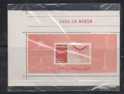 Brasil Year 1960 MNH Souvenir Sheet Scott 908 Architecture - Brazil