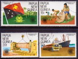 PAPUA NEW GUINEA 1983 SG #464-67 Compl.set Used Commonwealth Day - Papua New Guinea