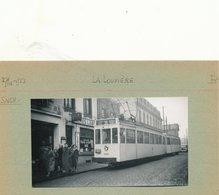 LA LOUVIERE   FOTO PHOTO 11 X 6CM TRAM VICINAL TRAMWAY - La Louvière