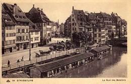 67 - STRASBOURG - Le Quai Des Bateliers - - Strasbourg