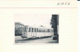 BRUSSEL BRUXELLES  LIJN 0   FOTO PHOTO 8.5 X 6 CM TRAM VICINAL TRAMWAY - Vervoer (openbaar)