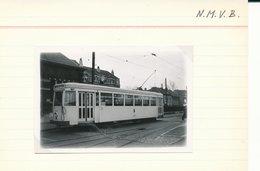 BRUSSEL BRUXELLES  LIJN  NAAR GRIMBERGEN E   FOTO PHOTO 9 X 6 CM TRAM VICINAL TRAMWAY - Vervoer (openbaar)