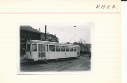 BRUSSEL BRUXELLES  LIJN  NAAR GRIMBERGEN E   FOTO PHOTO 9 X 6 CM TRAM VICINAL TRAMWAY - Public Transport (surface)