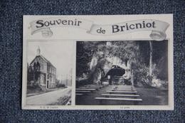 """ST SERVAIS - """" Souvenir De BRICNIOT """", Ancienne Hostellerie De N.D De LOURDES. - Other"""