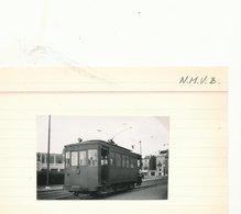BRUSSEL ANDERLECHT HET RAD  FOTO PHOTO 8 X 5 CM TRAM VICINAL TRAMWAY - Vervoer (openbaar)