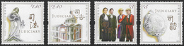 Hong Kong 2008 Judiciary 4v Set Unmounted Mint [3/3314/ND] - Unused Stamps