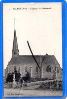 08 - FALAISE - L'Eglise Et Le Monument Aux Morts - France